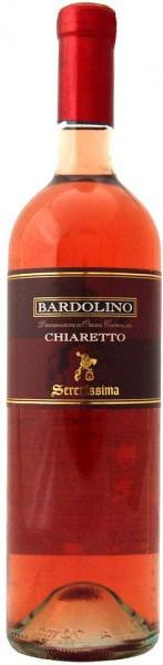 Вино Bardolino Chiaretto Serenissima DOC, 2010