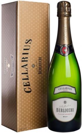 "Игристое вино Guido Berlucchi, ""Cellarius"" Brut, Franciacorta DOCG, 2008, gift box"
