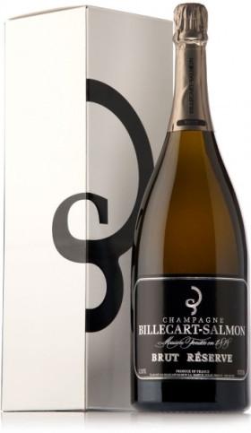 Шампанское Billecart-Salmon, Brut Reserve, gift box, 1.5 л