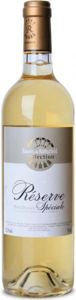 "Вино Domaine Barons de Rothschild, ""Reserve Speciale"" Blanc, Bordeaux AOC, 2012"