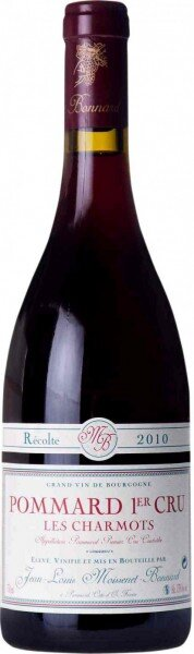 """Вино Moissenet-Bonnard, Pommard 1-er Cru """"Les Charmots"""" AOC, 2010"""