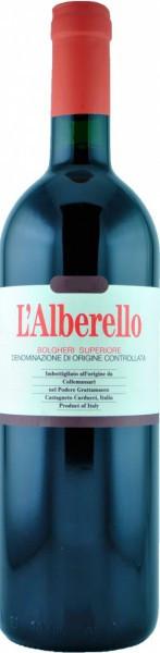 """Вино Grattamacco, """"L'Alberello"""", Bolgheri Superiore DOC, 2010"""