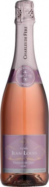 "Игристое вино Charles de Fere, ""Cuvee Jean-Louis"" Brut Rose"