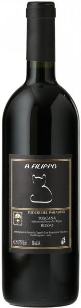 "Вино Poderi del Paradiso, ""A Filippo"" Toscana IGT, 2018"