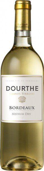 "Вино Dourthe, ""Grands Terroirs"" Bordeaux Blanc, Medium Dry, 2014"