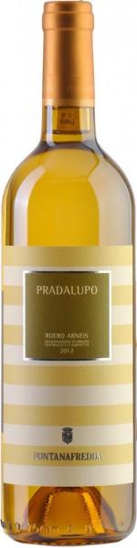 "Вино Fontanafredda, ""Pradalupo"", Roero Arneis DOCG, 2012"