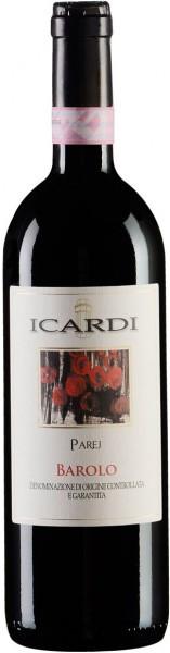 """Вино """"Parej"""", Barolo DOCG, 1998"""