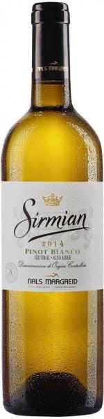 "Вино Nals-Margreid, ""Sirmian"" Pinot Bianco, Sudtirol Alto Adige DOC, 2014"