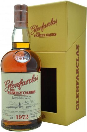 """Виски Glenfarclas 1972 """"Family Casks"""", in gift box, 0.7 л"""