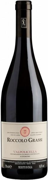 Вино Roccolo Grassi, Valpolicella DOC Superiore, 2012