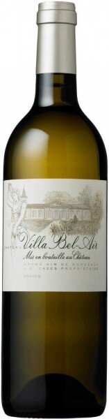 "Вино ""Chateau Villa Bel-Air"" Blanc, Graves AOC, 2012"