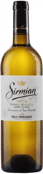 "Вино Nals-Margreid, ""Sirmian"" Pinot Bianco, Sudtirol Alto Adige DOC, 2013"