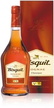 Коньяк Bisquit VS, with box, 0.7 л