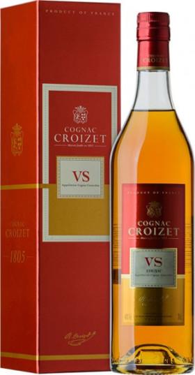"Коньяк ""Croizet"" VS, Cognac AOC, gift box, 0.7 л"
