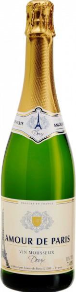 """Игристое вино """"Amour de Paris"""" Doux"""