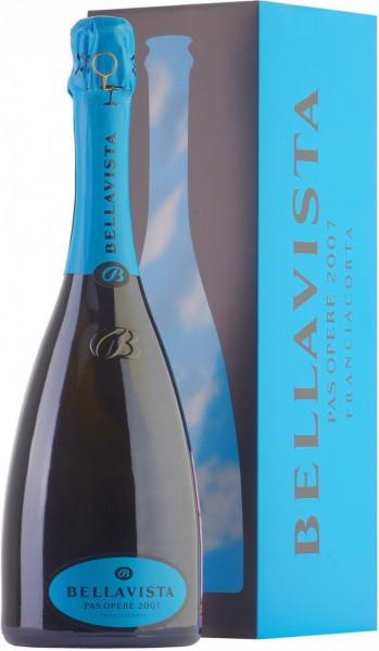 "Игристое вино Bellavista, Franciacorta Gran Cuvee ""Pas Opere"", 2007, gift box"