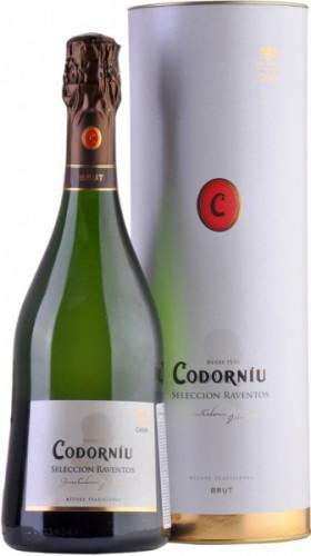 "Игристое вино Codorniu, ""Seleccion Raventos"", gift box"