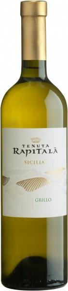 Вино Tenuta Rapitala, Grillo, Sicilia IGT, 2011
