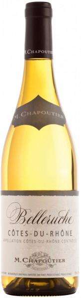 """Вино Cotes-du-Rhone """"Belleruche"""" Blanc AOC, 2016"""