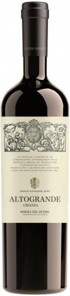 """Вино """"Altogrande"""" Crianza, Ribera del Duero DO, 2014"""