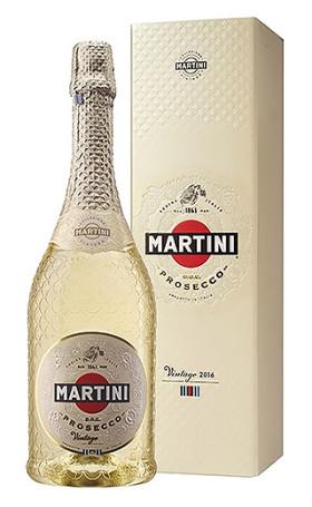 Просекко Martini Prosecco Vintage 2016 gift box 0.75л