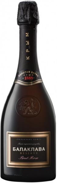 """Игристое вино """"Balaklava"""" Brut Rose Reserve"""