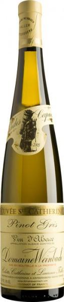 """Вино Domaine Weinbach, Pinot Gris """"Cuvee Sainte Catherine"""", 2005, 0.375 л"""