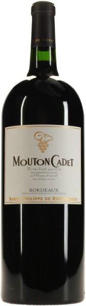 """Вино """"Mouton Cadet"""", Bordeaux AOC Rouge, 2014, 1.5 л"""