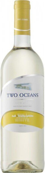 """Вино """"Two Oceans"""" Full and Fruity White, 2013"""