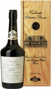 Кальвадос Coeur de Lion Calvados Pays d`Auge 1970, wooden box, 0.7 л