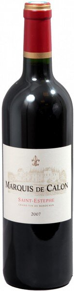 Вино Marquis de Calon, Saint-Estephe AOC, 2007