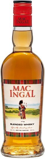 "Виски ""Mac Ingal"" Blended Whisky, 0.5 л"