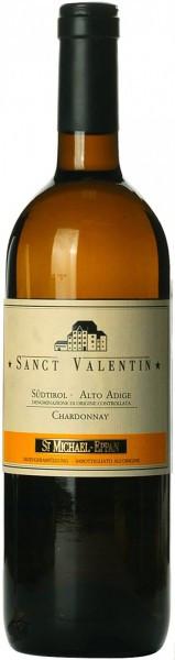 "Вино San Michele-Appiano, ""Sanct Valentin"" Chardonnay, Alto Adige DOC, 2012"