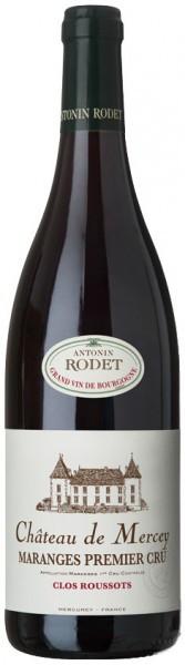"""Вино Antonin Rodet, Chateau de Mercey, Maranges Premier Cru """"Les Clos Roussots"""" AOC, 2013"""