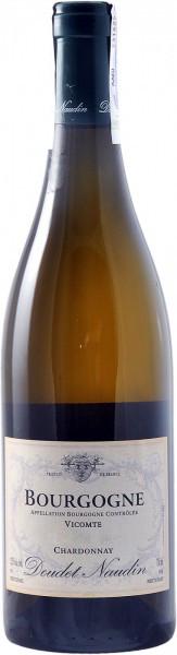 "Вино Doudet Naudin, ""Vicomte"" Chardonnay, Bourgogne AOC"