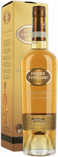 "Коньяк Pierre Ferrand, ""Ambre"", gift box, 0.7 л"