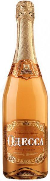 "Игристое вино ""Odessa"" Gold sweet"