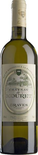 "Вино ""Chateau Du Mouret"" Blanc, Graves AOC, 2012"