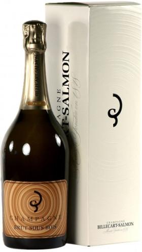 Шампанское Billecart-Salmon, Brut Sous Bois, gift box