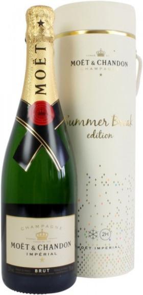 "Шампанское Moet & Chandon, Brut ""Imperial"", edition ""Summer Break"", isothermal box"