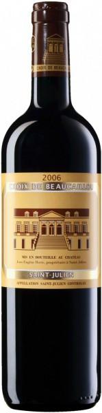 """Вино """"Croix de Beaucaillou"""", Saint Julien AOC, 2006"""