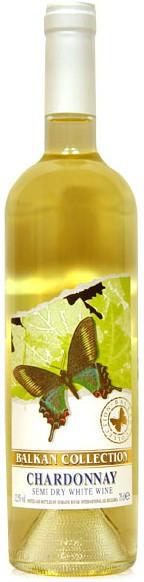 Вино Balkan Collection, Chardonnay