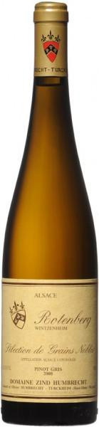 "Вино Zind-Humbrecht, Pinot Gris ""Rotenberg"" Selection de Grains Nobles AOC, 2008"