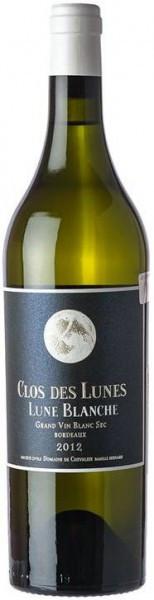 Вино Clos des Lunes, Lune Blanche, Bordeaux AOC, 2012