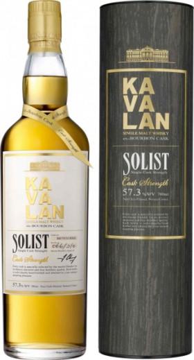 "Виски Kavalan, ""Solist"" Ex-Bourbon Cask, in tube, 0.7 л"