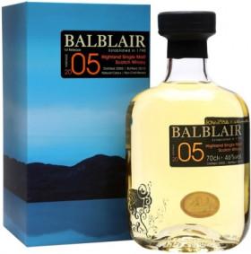 """Виски """"Balblair"""", 2005, gift box, 0.7 л"""