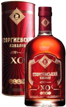 "Коньяк Tavria, ""Georgievsky Cavaler"" XO, in tube, 50 мл"