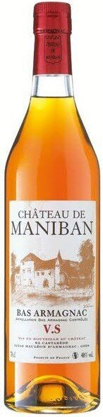 "Арманьяк Castarede, ""Chateau de Maniban"" VS, Bas Armagnac AOC, 0.7 л"