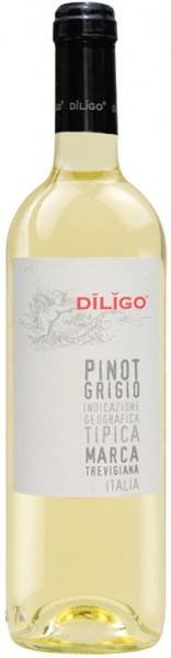 "Вино Anna Spinato, Pinot Grigio ""Diligo"" IGT, 2014, 375 мл"