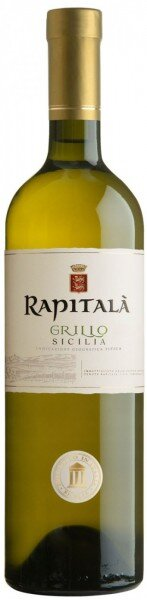 "Вино ""Rapitala"" Grillo, Sicilia IGT, 2013"